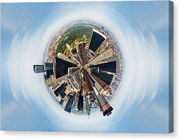 Eye Of New York Canvas Print