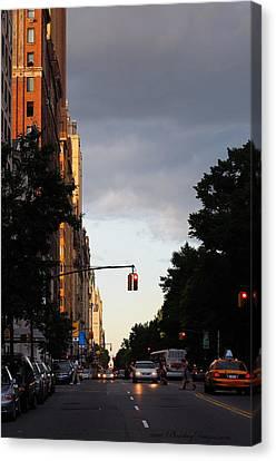 Central Park West 7524 Canvas Print by PhotohogDesigns
