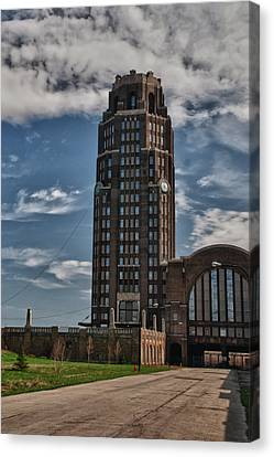 Central Terminal 15128 Canvas Print by Guy Whiteley
