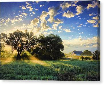 Central Texas Sunrise Canvas Print