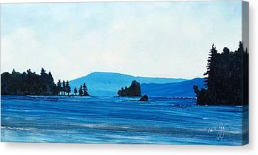 Centre Harbor Canvas Print
