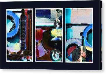 Centrifuge Canvas Print by Steve Karol