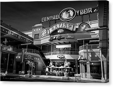 Centro Ybor Canvas Print by Marvin Spates