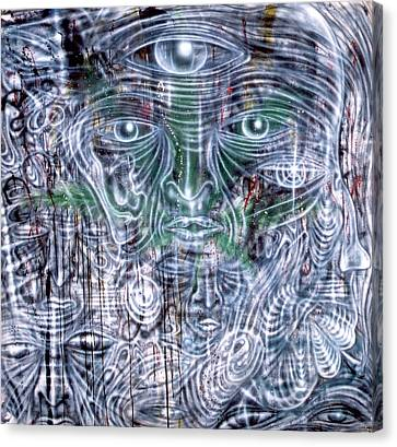 Cephalic Carnage Canvas Print by Leigh Odom