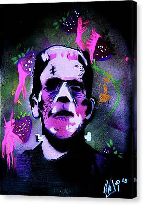 Cereal Killers - Frankenberry Canvas Print by eVol i