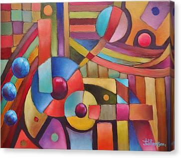 Cerebral Decor # 5 Canvas Print by Jason Williamson