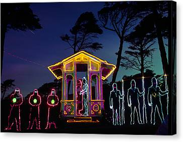 Ceremony At Sutro Heights Canvas Print by Garry Gay