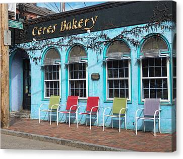 Ceres Bakery In Portsmouth Nh Canvas Print