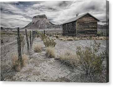 Cerro Castellan - Big Bend  Canvas Print