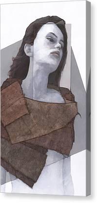 Cessair Canvas Print by Steve Mitchell