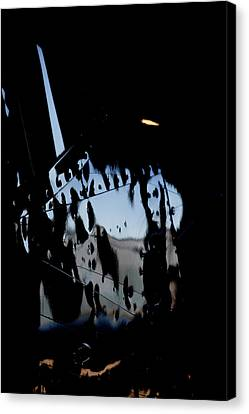 Canvas Print featuring the photograph Cessna Art I by Paul Job