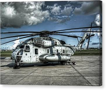 Ch-53 Super Stallion Canvas Print