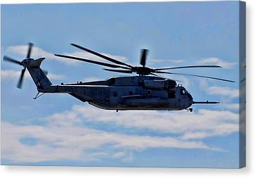Ch-53d Sea Stallion - 2 Canvas Print by Tommy Anderson