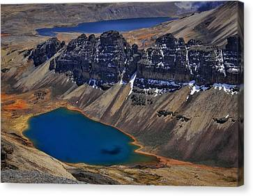 Canvas Print - Chacaltalya Climb To 17800 Feet 15 by Skip Hunt