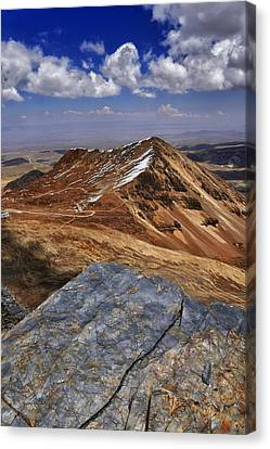 Canvas Print - Chacaltalya Climb To 17800 Feet 16 by Skip Hunt