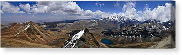 Chacatalya Pano Canvas Print by Skip Hunt