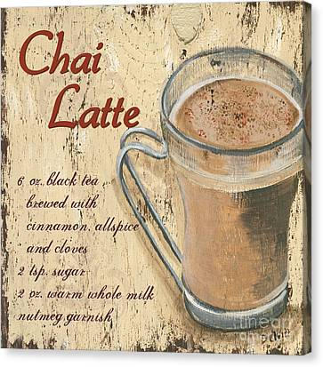 Chai Latte Canvas Print by Debbie DeWitt