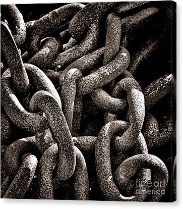 Chained  Canvas Print by Olivier Le Queinec