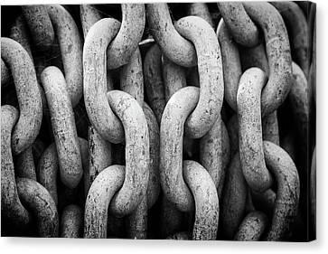 Chains Canvas Print by Darren Brown