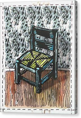Chair Ix Canvas Print