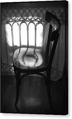 Chair Canvas Print by Julia Bridget Hayes