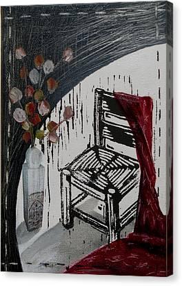 Chair Viii Canvas Print by Peter Allan