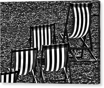 Chairfully Placed Canvas Print