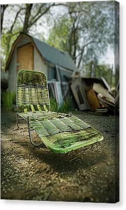 Chaise Lounge Canvas Print by Yo Pedro