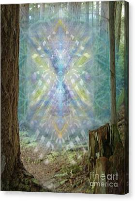 Chalice-tree Spirt In The Forest V2 Canvas Print by Christopher Pringer