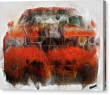 Challenger Wash Canvas Print