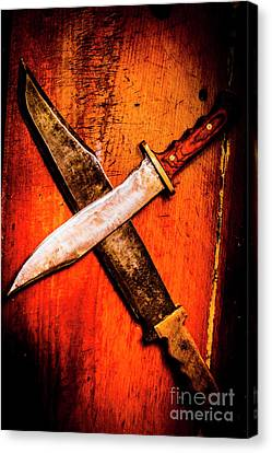 Challenging A Duel Canvas Print by Jorgo Photography - Wall Art Gallery