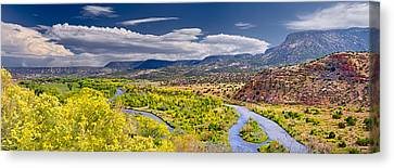 Chama River Overlook Canvas Print by Photo by Dean Fikar