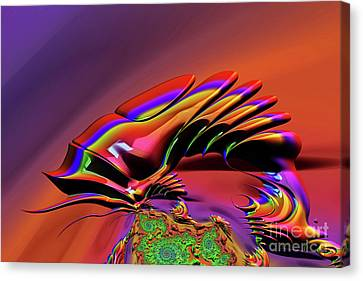 Chameleon Rainbow Canvas Print