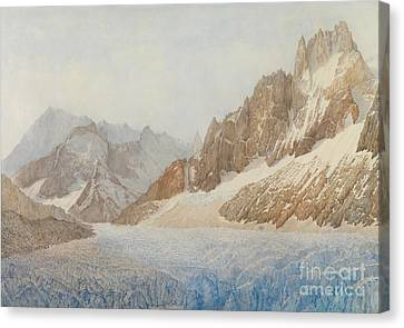 Chamonix Canvas Print by SIL Severn