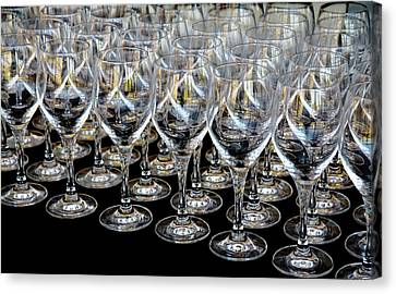 Champagne Army Canvas Print by Stephen Mitchell