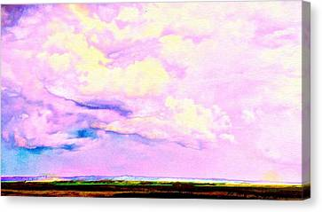 Champion Skies Alfred And Donna's Field Of Dreams Canvas Print