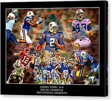 Champions Canvas Print by Lance Curry