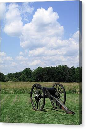 Chancellorsville Battlefield 3 Canvas Print by Frank Romeo