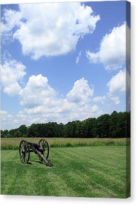Chancellorsville Battlefield Canvas Print by Frank Romeo