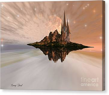 Chandara Canvas Print by Corey Ford