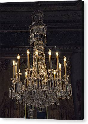 Chandelier Canvas Print by Martin Newman