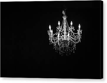 Chandelier  Canvas Print by Ray Congrove