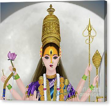 Chandraghanta Canvas Print