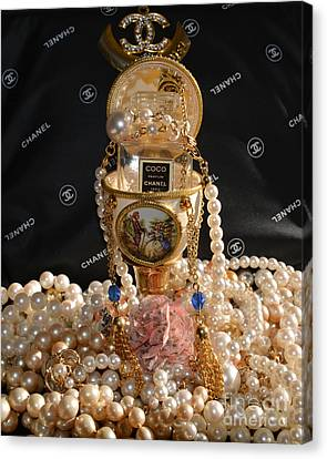 Totam Canvas Print - Chanel Coco And  Egg 2 by To-Tam Gerwe
