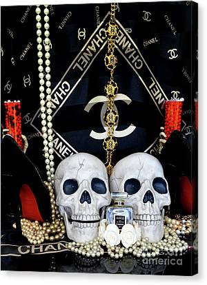 Totam Canvas Print - Chanel Halloween 4 by To-Tam Gerwe
