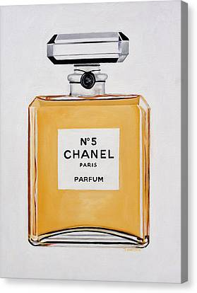 Chanel Me Canvas Print by Denise H Cooperman