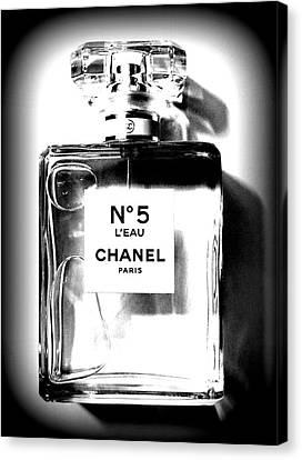 Chanel No. 5 L'eau Canvas Print