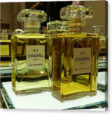 Chanel No 5  Canvas Print by To-Tam Gerwe