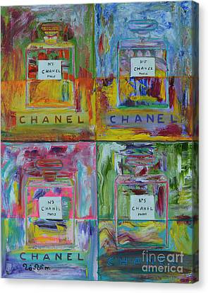 Chanel Pop Art Canvas Print by To-Tam Gerwe