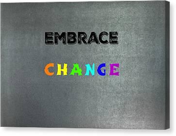 Change #1 Canvas Print
